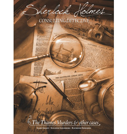 Asmodee Studios The Thames Murders and Other Cases Sherlock Holmes