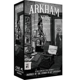 ANA Asmodee Studios Arkham Noir Case #1 The Witch Cult Murders