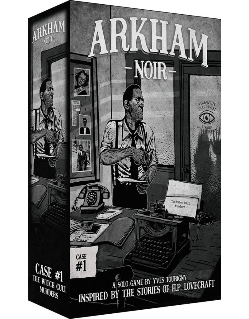 Asmodee Studios Arkham Noir Case #1 The Witch Cult Murders
