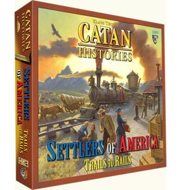ANA Catan Studios Trails to Rails Catan Histories Settlers of America