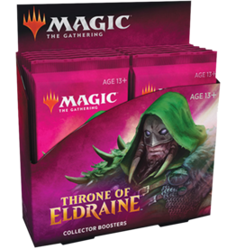 WOTC MTG MTG Throne of Eldraine Collector Booster Display