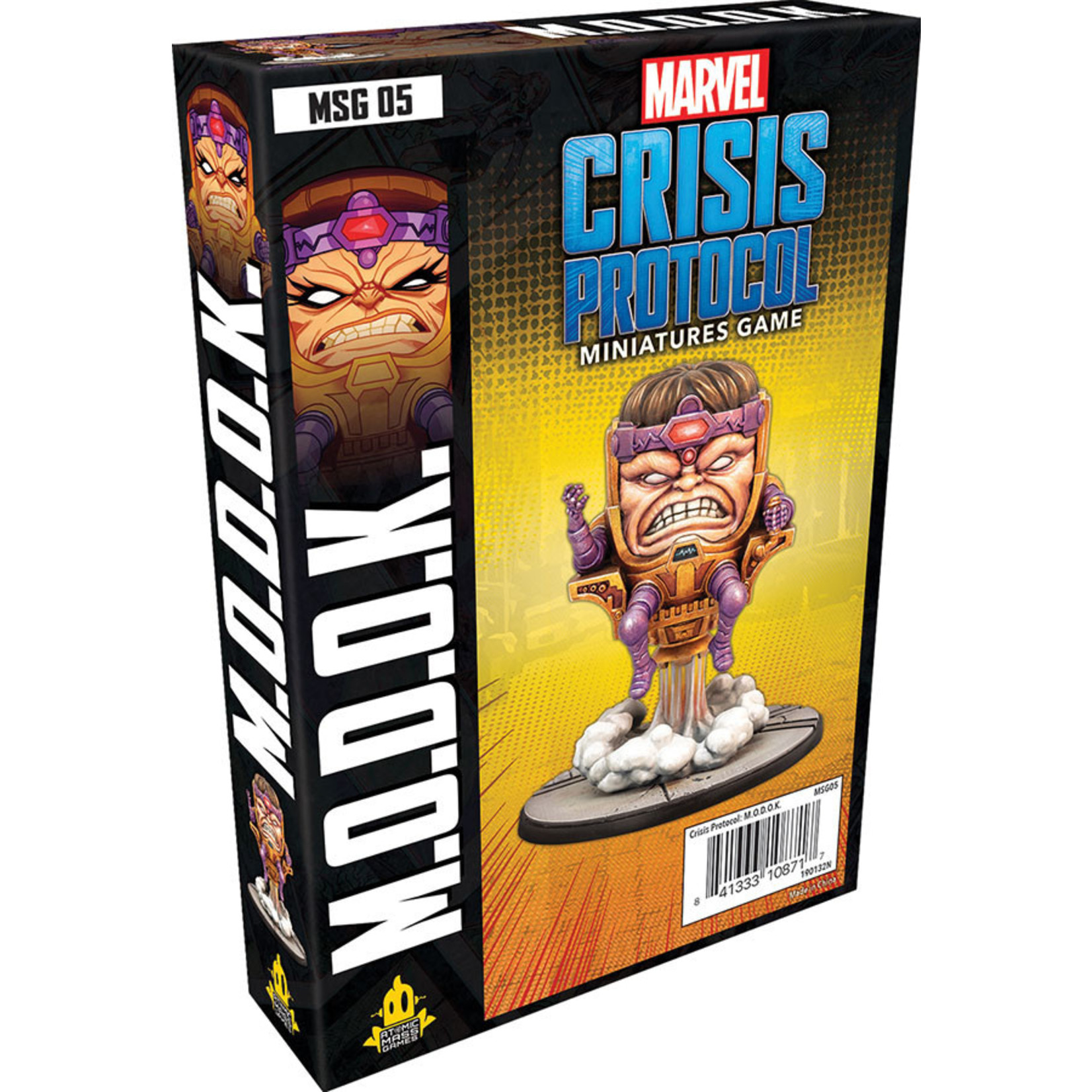 Atomic Mass Games Marvel Crisis Protocol - M.O.D.O.K. Character Pack
