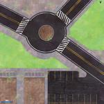 Atomic Mass Games MCP Roundabout Knockout Game Mat