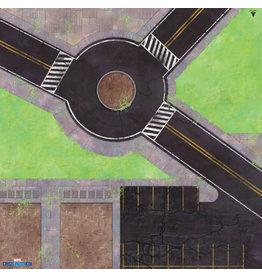Asmodee Studios MCP Roundabout Knockout Game Mat