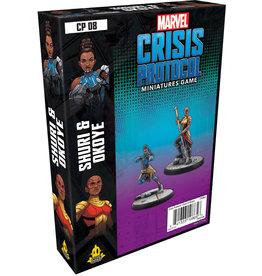 ANA Asmodee Studios Shuri & Okoye Character Pack Marvel: Crisis Protocol