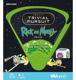 USAopoly Rick & Morty Trivial Pursuit