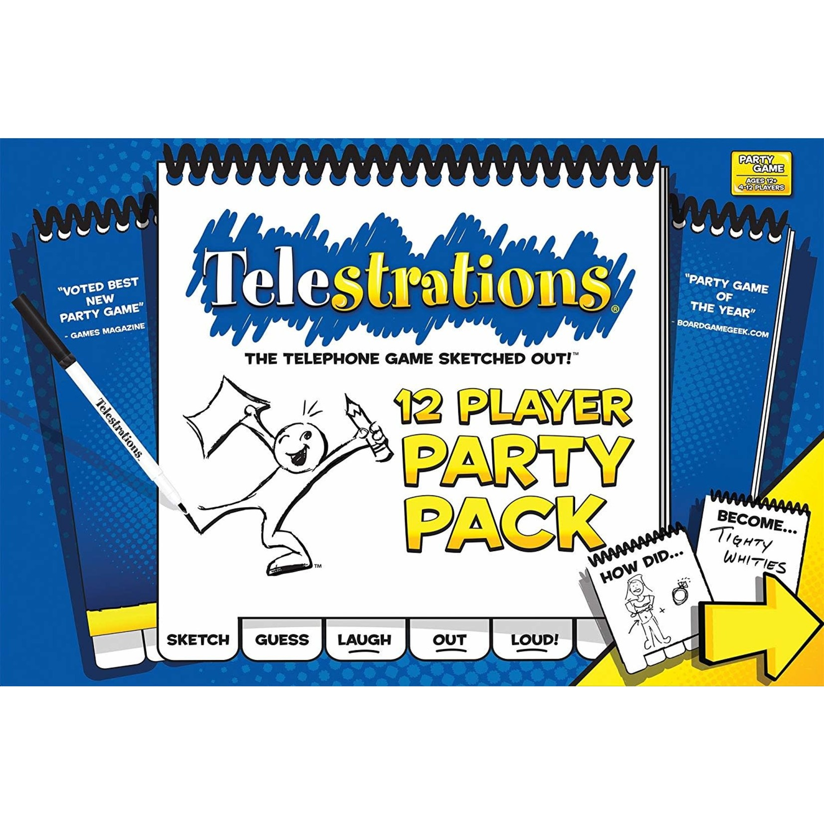 USAopoly Telestrations Party Pack