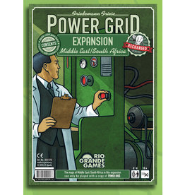 Rio Grande Games Power Grid: Middle East/South Africa Expansion