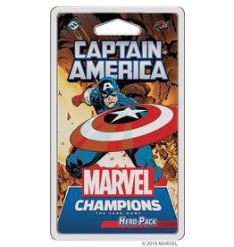 Fantasy Flight Games Captain America Hero Pack Marvel Champions LCG - Core