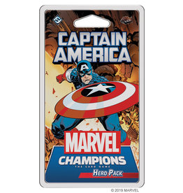 Fantasy Flight Games MC LCG Captain America Hero Pack