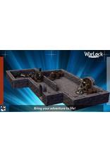 WIZKIDS/NECA Warlock Dungeon Tiles: Starter Set