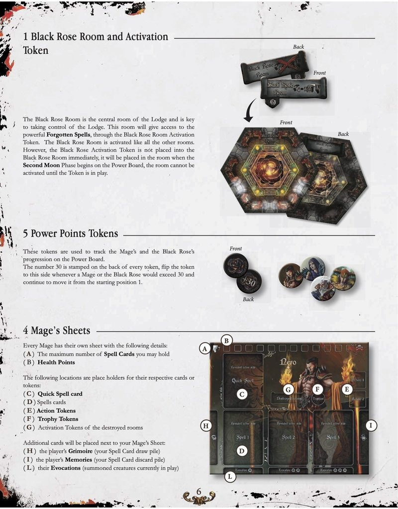 Ludus Magnus Studio Black Rose War KS