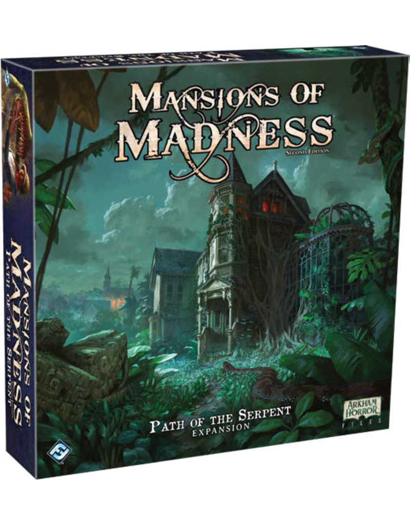 Fantasy Flight Games Path of the Serpent Mansions of Madness 2E Expansion