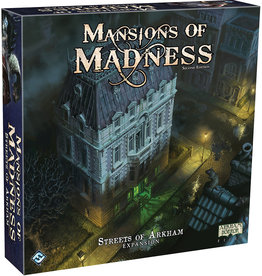 Fantasy Flight Games Streets of Arkham Expansion Mansions of Madness 2E