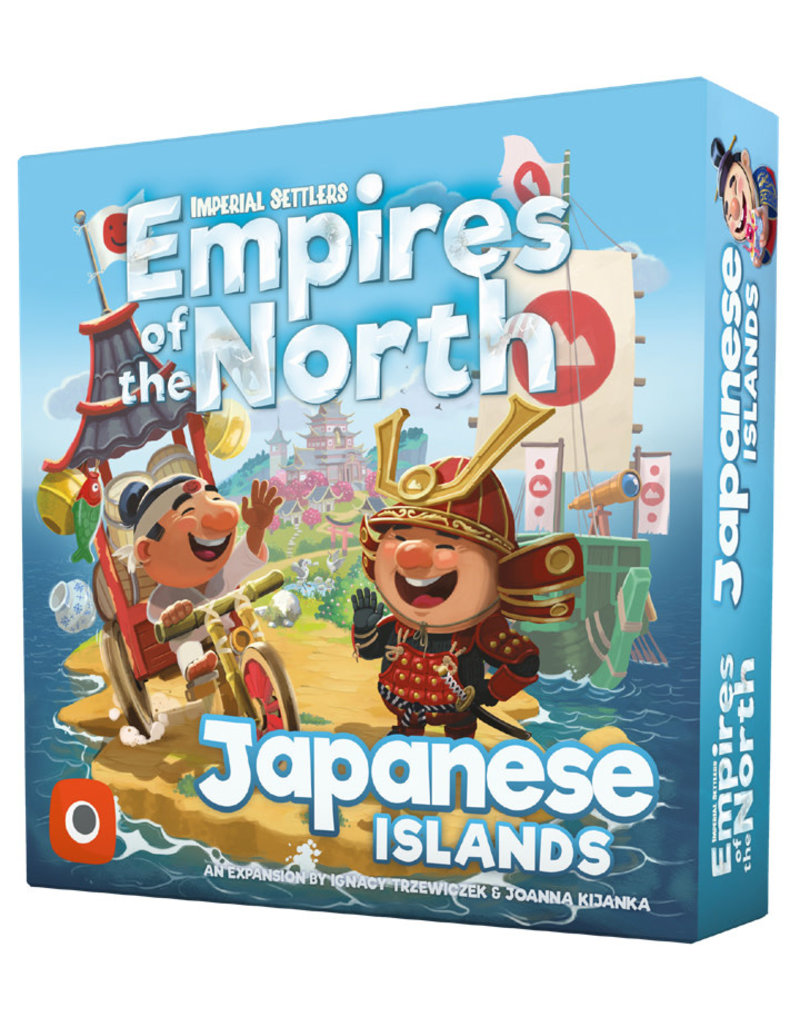 Portal Games Japanese Islands Empires of the North Imperial Settlers