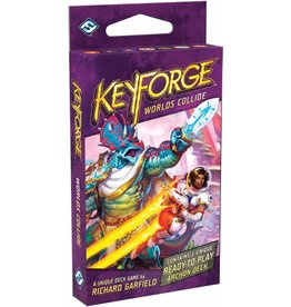 Fantasy Flight Games Worlds Collide KeyForge display