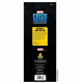 Asmodee Studios MCP Measurement Tools Marvel: Crisis Protocol
