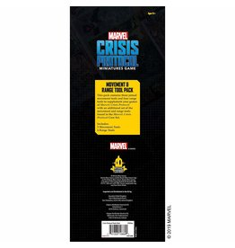 Atomic Mass Games MCP Measurement Tools Marvel: Crisis Protocol