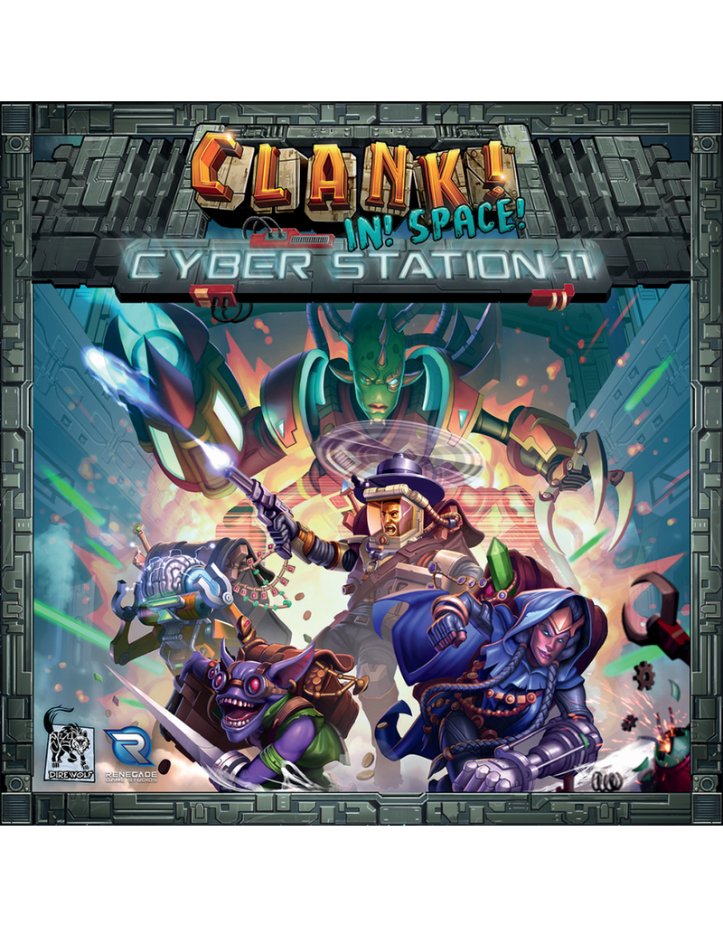 Renegade Game Studios Clank! In! Space! Cyber Station Expansion