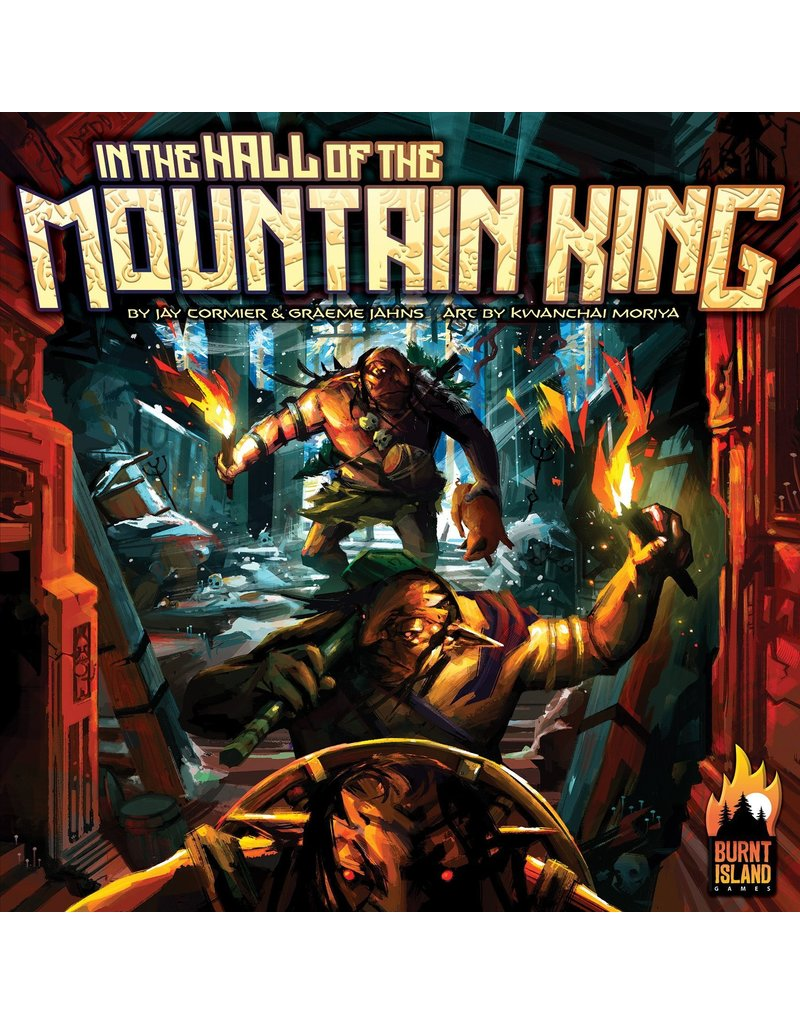 Burnt Island Games & Grand Gamers Guild In the Hall of the Mountain King