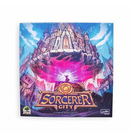 Druid City Games Sorcerer City Board Game Deluxe KS