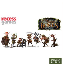 Too Many Bones :: Gaming Session January 25, 2020