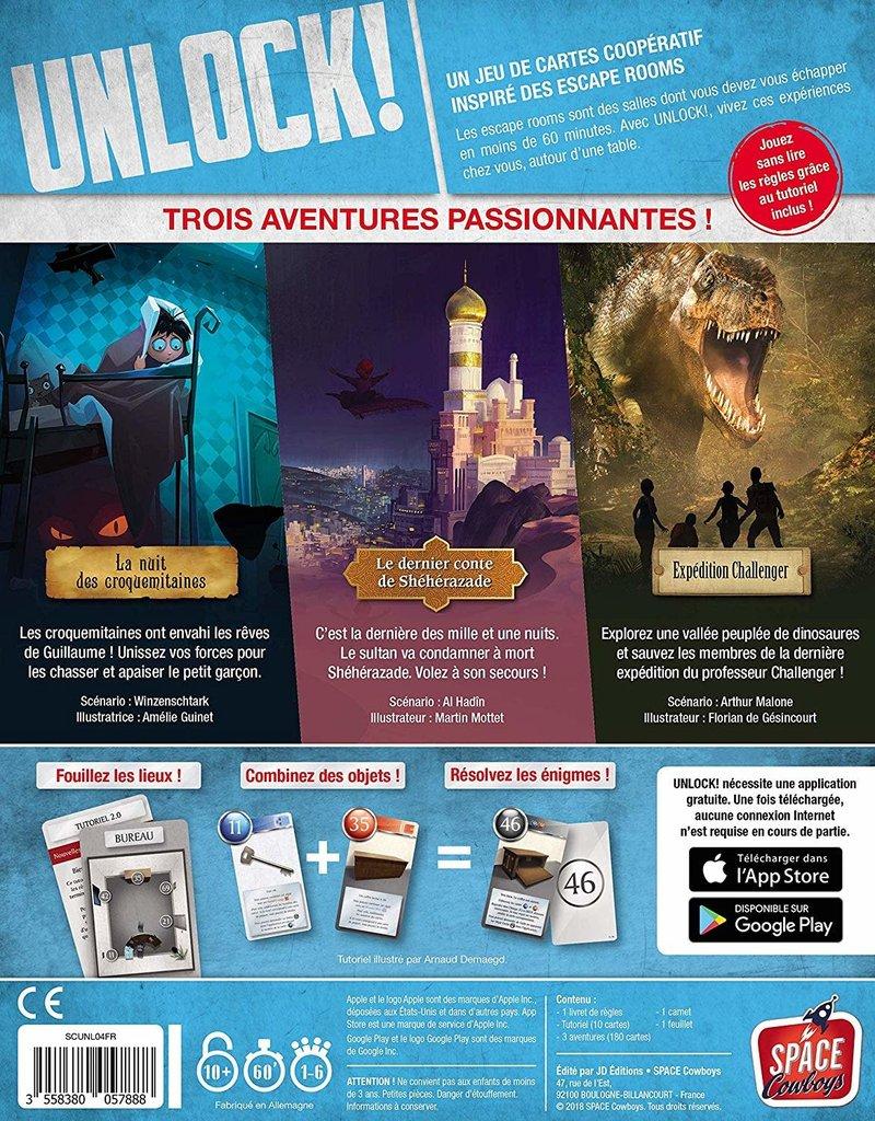 Asmodee Studios UNLOCK! Exotic Adventures