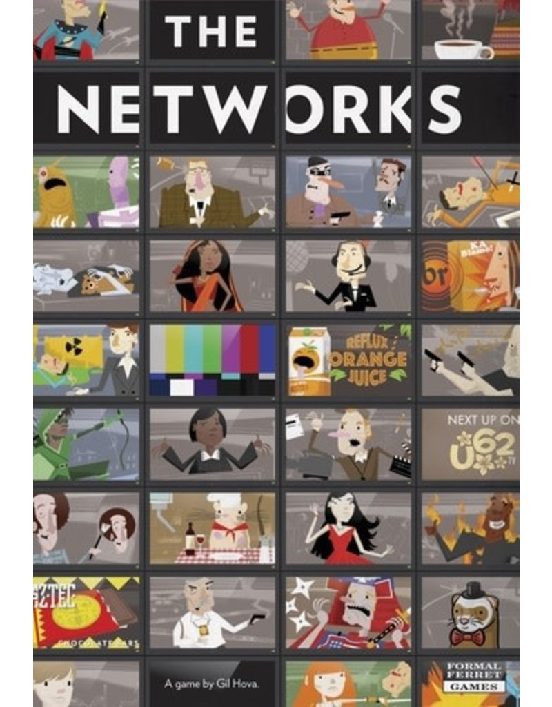 Formal Ferret Games The Networks