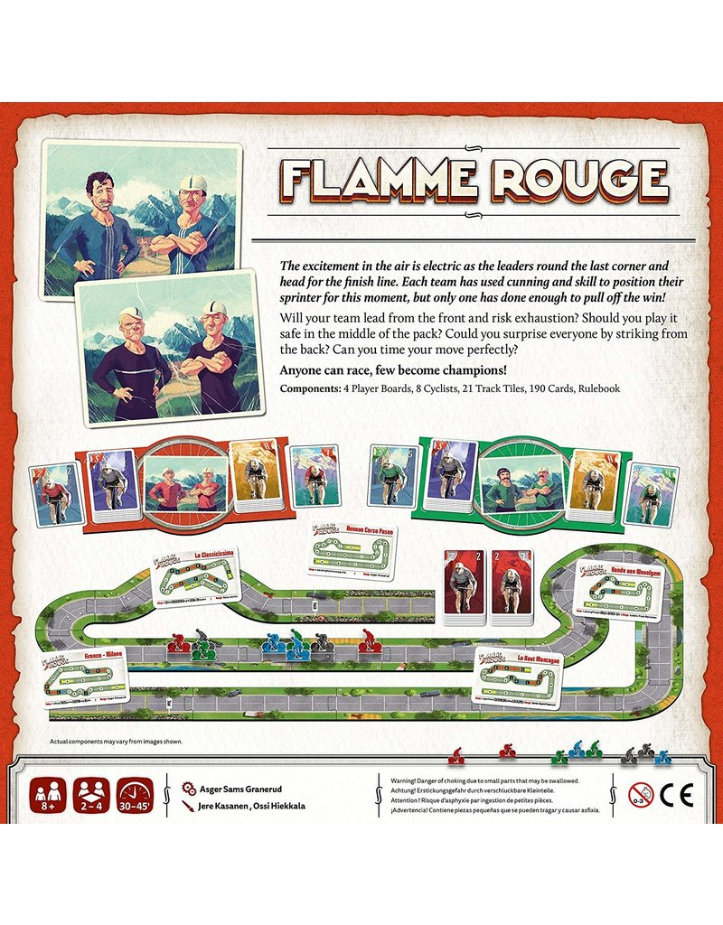 Stronghold Games Flamme Rouge