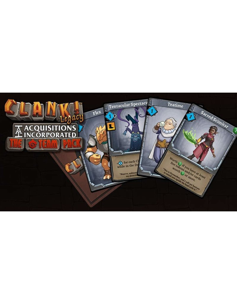 Renegade Game Studios Clank! The 'C' Team Pack Legacy Acquisitions Incorporated