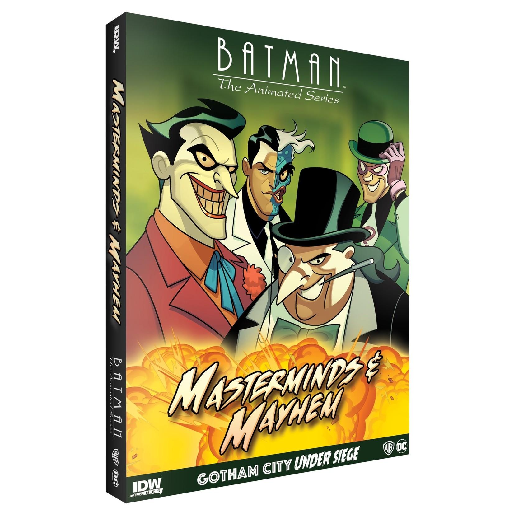IDW Publishing Batman Gotham City Under Siege Masterminds and Mayhem