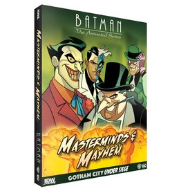 IDW Batman Gotham City Under Siege Masterminds and Mayhem
