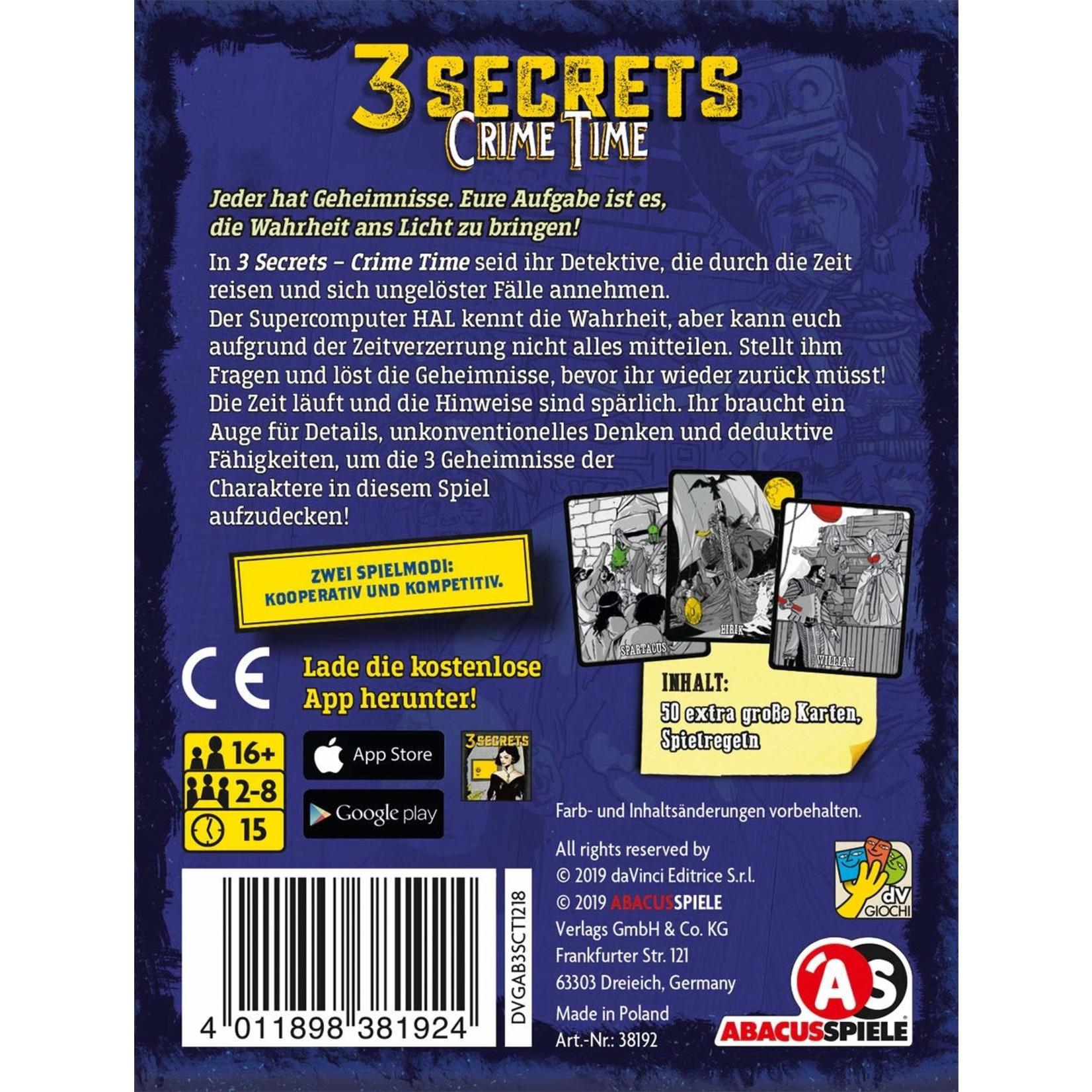 DV GIOCHI 3 Secrets Crime Time