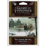 Fantasy Flight Games The Things We Do for Love AGoT 2E Premium Pack