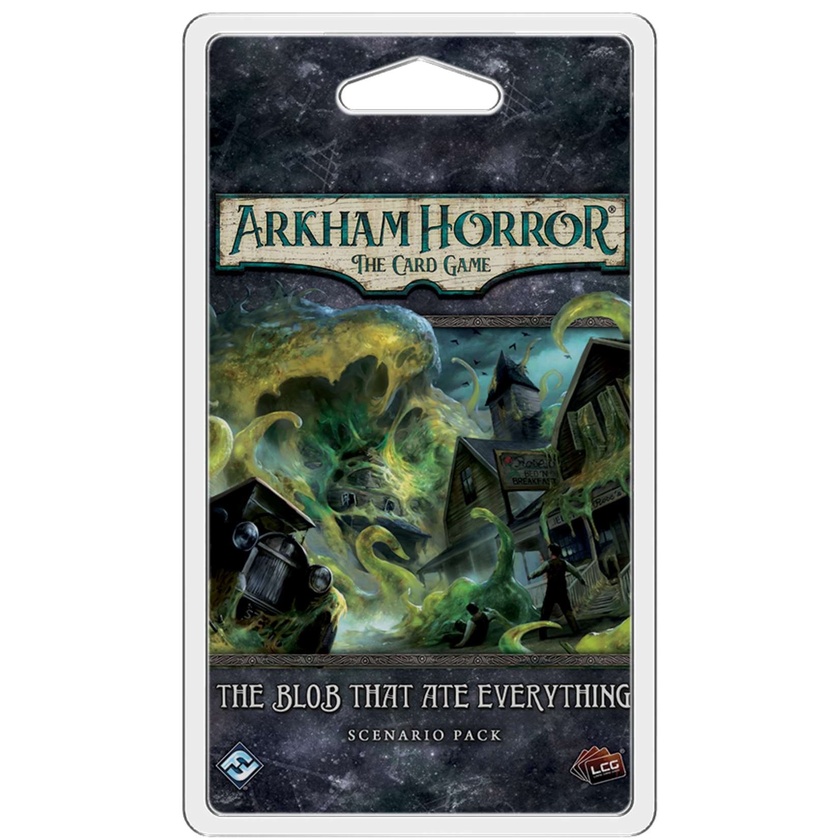 Fantasy Flight Games Arkham Horror The Card Game:  The Blob That Ate Everything Scenario