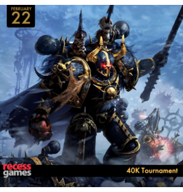 GW 40K 40K Tournament February 22 2020