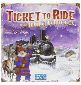 ANA Days of Wonder Ticket to Ride Nordic Countries