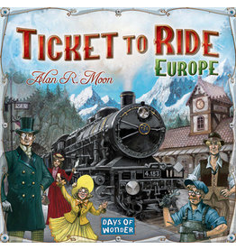 ANA Days of Wonder Ticket to Ride Europe