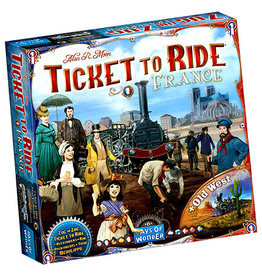 Days of Wonder Ticket To Ride: France and Old West Map Collection V6