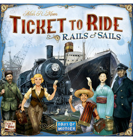 ANA Days of Wonder Ticket to Ride: Rails and Sails