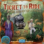 Days of Wonder Ticket to Ride Heart of Africa Map Collection V3