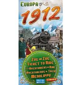 ANA Days of Wonder Ticket to Ride Europa 1912 Exp