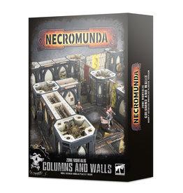 Necromunda Zone Mortalis Columns & Walls