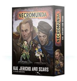 Games Workshop Necromunda Kal Jericho and Scabs