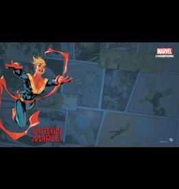 Fantasy Flight Games Marvel Champions Captain Marvel Game Mat