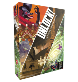 Asmodee Studios UNLOCK! Timeless Adventures