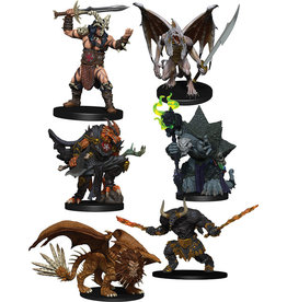 WIZKIDS/NECA D&D Icons of the Realms Figure Pack - Descent into Avernus - Arkhan the Cruel and the Dark Order
