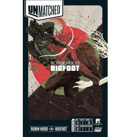 Restoration Games Unmatched Battle of Legends V2 Robin Hood v Bigfoot