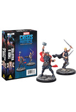 ANA Asmodee Studios Thor and Valkyrie Character Pack Marvel: Crisis Protocol