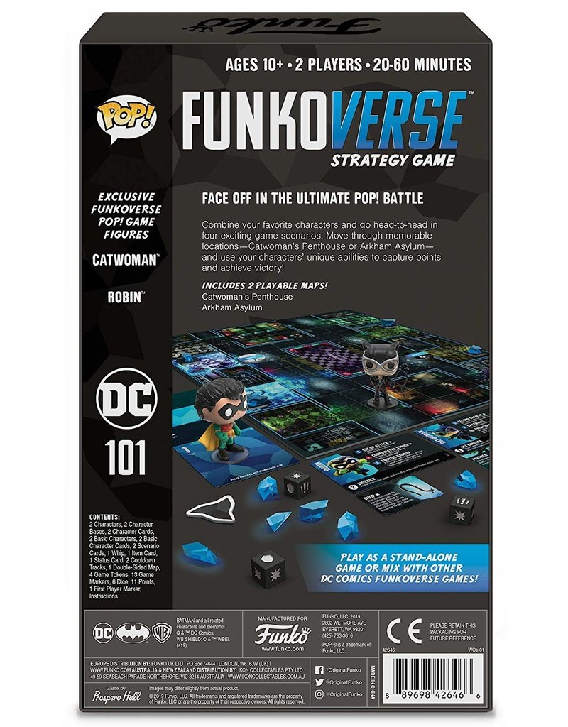 FUNKO DC Comics POP! Funkoverse 101 Expandalone